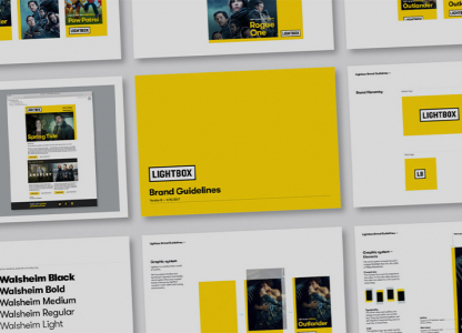 lightbox brand guidelines cover
